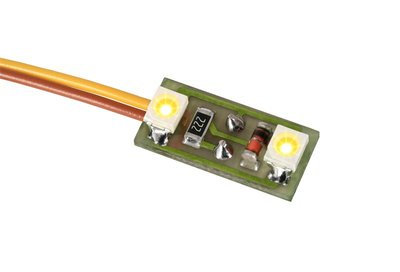 HUISVERLICHTING, 2 LEDS, WARMWIT